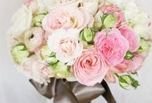 Bridal Bouquets   White & Pale Pink