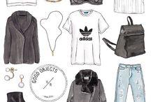Модные эскизы