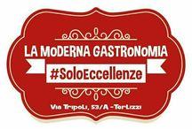 La Moderna Gastronomia / A Terlizzi dici La Moderna Gastronomia ed hai la certezza di trovare prodotti freschi, Salumi e formaggi artigianali di piccoli produttori.