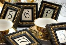 WEDDING - Table Decor-- Table Numbers / Table Numbers