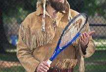 Trapper Tennis / T.O. loves a good tennis match. Follow his game here.