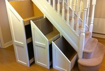 lépcső alatti szekrény
