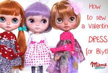 Miema Dollhouse / wardrobe for Blythe dolls from Miema Dollhouse