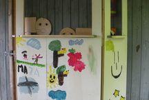 Dukketeater i Skole fritids ordning Amagerskolen / Dukker til vores dukketeater.