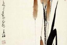 японская и китайская живопись