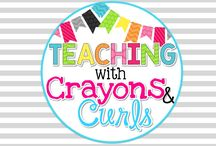 Teaching with Crayons and Curls Store / Teaching with Crayons and Curls Store