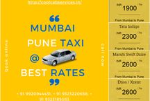 Book Best Mumbai Pune Taxi Services lowest fare