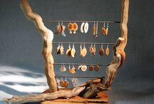 Wooden Jewelry Displays