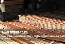 Sawn Timber AD/KD / We supply sawn timber AD/KD coming from Philippine plantation, and imported hardwood, and softwood. Local or international production of quality lumber available in multitude of choices.