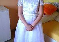 Naše malé parádnice / Šaty pre deti na prvé sväté prijímanie a svadby