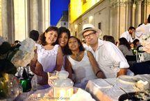 Massimo Grassi ph. Cena in bianco torino 2014 Piazza San Carlo