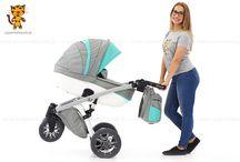 Naxter - wózek dziecięcy 3w1 / Naxter - wózek dziecięcy 3w1 to idealna propozycja dla nowoczesnych rodziców. Atutem wózka jest dobra amortyzacja oraz prosty sposób składania ramy. Koła pompowane z łożyskami, zdobione hologramami.
