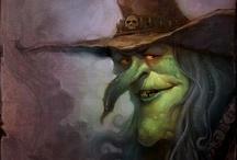 Баба-Яга, Ведьма, колдунья