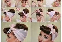 50s - 60s hairstyles