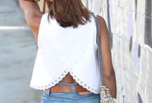 summer fashion / Cute summer outfits and summer outfit ideas