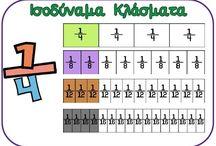 μαθηματικά -κλάσματα