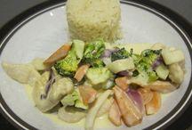 Kylling /grøntsager