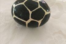 Taş Boyama / Hand Painted Stone