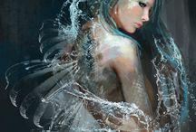 Siren pic inspiration & ref