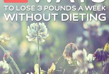Perdre du poids / Des truc pour perdre du poids