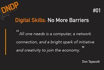 Digital Skills / Digital Network for Disabled People (DNDP) aims to encourage people with disabilities to work in flexible digital jobs.