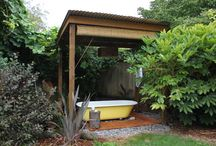 Fun House and garden