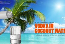 VODKA IN COCONUT WATER / THE ULTIMATE MIX OF VODKA & LIFE, FROM A CHAPTER OF MATURE WOMEN AND HER JOURNEY OF LOVE, LUST, BETRAYAL & CRIME.