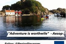 Inspiring quotes - RegionStavanger / Get inspired with travelling quotes, and gorgeous shots of the Stavanger region!