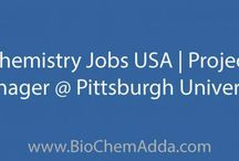 Chemistry Jobs in USA / BioChem Adda aims to provide the most trustworthy and transparent information portal related to jobs, careers, education, fellowships, news, articles, and events from the field of BioSciences, Chemistry, and Pharmacy!