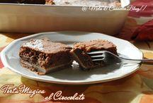 Torta magica al cioccolato / Catalogato torte al cioccolato , torte