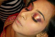 bridal makeup @ chen's salon yelahanka Bangalore / Bridal makeup