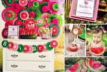 Watermelon/Fruit Birthday Party