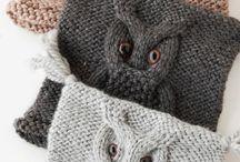 Bufniță tricotata