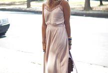 Vestido longo verão