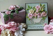 Tutorials-Scrap Flowers / by Dorota Wrona