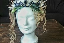 My selfmade headpieces