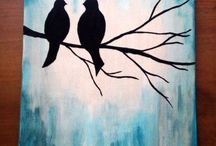 Easy canvas painting