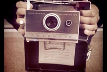 Vintage/retro cameras Polaroid/ fuji Instax cameras / Polaroid camera's
