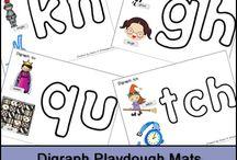 Preschool: Reading / Things to help reading.