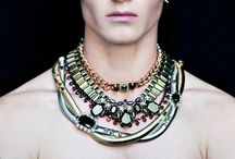 Men. Fashion. Makeup