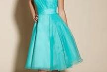 Bridesmaid dresses/groomsmen suits