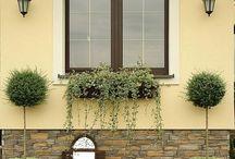 aranzacje okienne zewnętrzne
