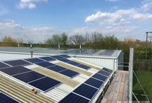 22.5kW Solar PV - Cheshire / Photos from our 22.5kW solar PV installation at a family-run paper and packaging firm in Cheshire