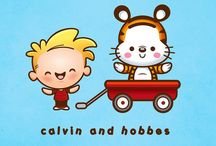 calvin & hobbes / by Chau Nguyen