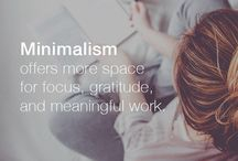 Minimalist Lifestyle Tips / Minimalism | Declutter | Live with Less | White Space | Mindful living | Philosophy | Mindset | Minimal | Live Simply | Slow Living | Lifestyle
