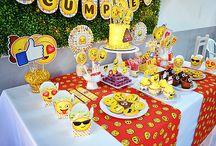 decoraciones de emojis Maura ,