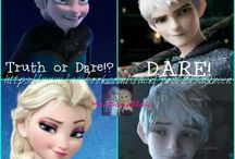 Frozen and Jack Frost