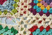 colchas a crochet