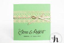 2017 Wedding invitations / Invitatii de nunta 2017