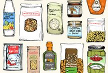 Packaging and Food Illustration